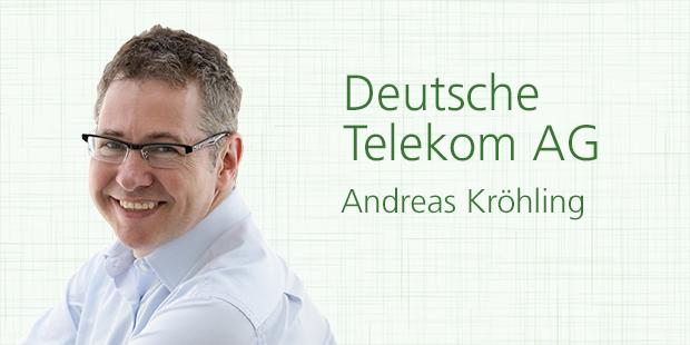 Andreas Kröhling, Deutsche Telekom AG