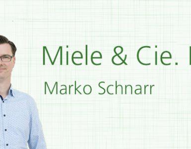 Marko Schnarr, Miele & Cie. KG