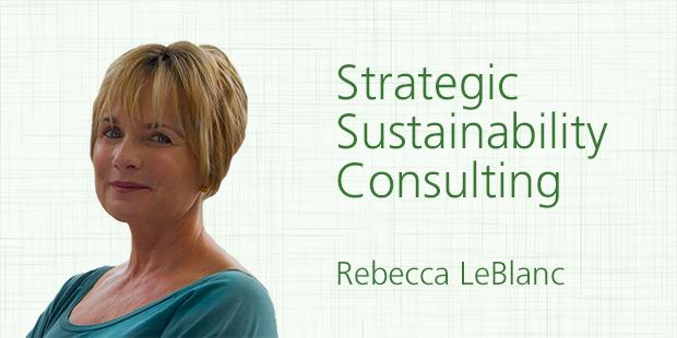 """Rebecca LeBlanc, sustainability consultant at """"Strategic Sustainability Consulting"""" , Boston"""