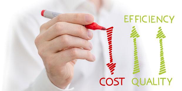 Unternehmen steigern durch MFCA Ihre Materialeffizienz