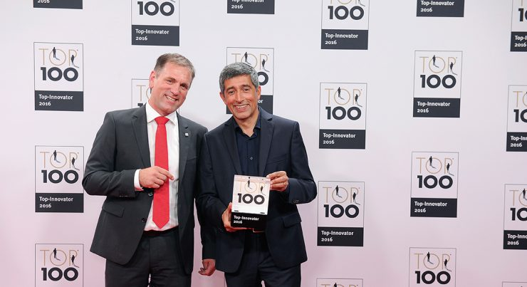 iPoint-systems is Top 100 Innovater of the year 2016.