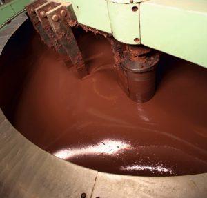 Chocolate agitator